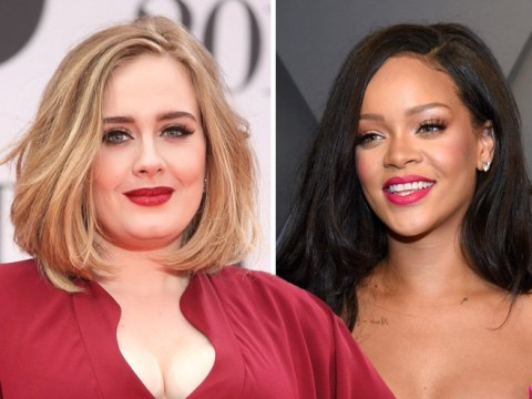 Which female pop star is making her comeback on Thursday – could it be Adele, Rihanna or Lady Gaga?
