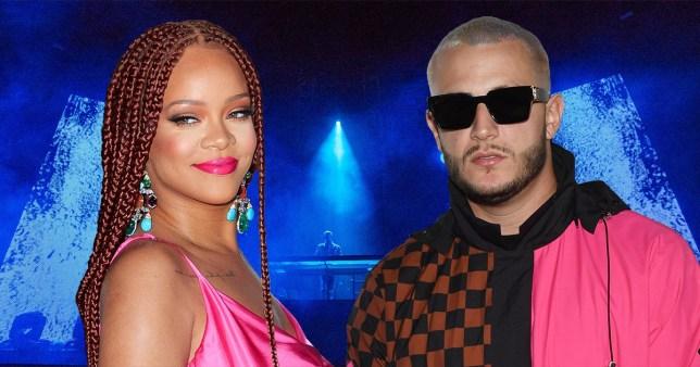 Rihanna and DJ Snake
