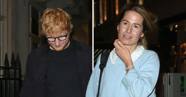 Ed Sheeran out with Cherry Seaborn