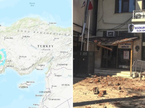 Homes destroyed as Turkey hit by 6.0 magnitude earthquake