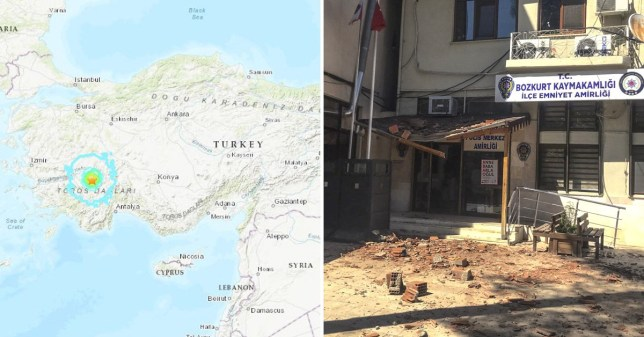turkey earthquake