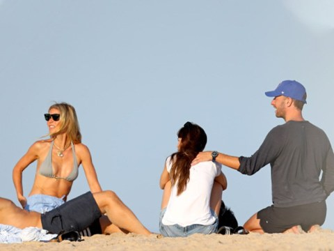 Gwyneth Paltrow and Chris Martin are the ultimate blended family on beach trip with Dakota Johnson and Brad Falchuk
