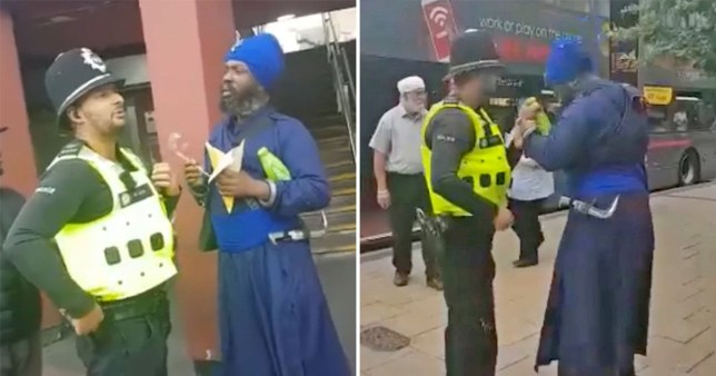 Sikh man wrongly detained by police for carrying religious dagger