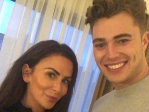 Love Island's Curtis Pritchard gets his eyebrows and lashes tinted and it's a look