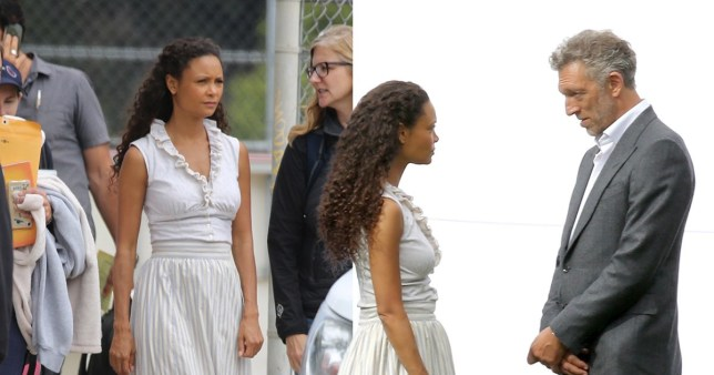 Westworld season 3: Thandie Newton looks intense shooting with newcomer Vincent Cassel