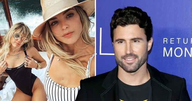 Brody Jenner mocks Miley Cyrus kissing his ex-wife Kaitlynn Carter
