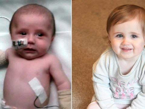 Miracle baby survives sepsis and meningitis after sibling died