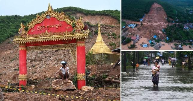 At least 34 killed as landslide wreaks havoc in Burma | Metro News