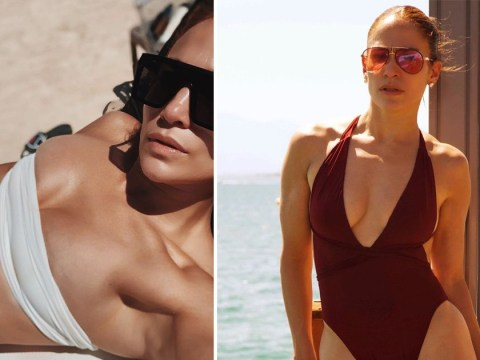 Alex Rodriguez pines over Jennifer Lopez as he shares bikini snap of fiancé – and she looks unreal