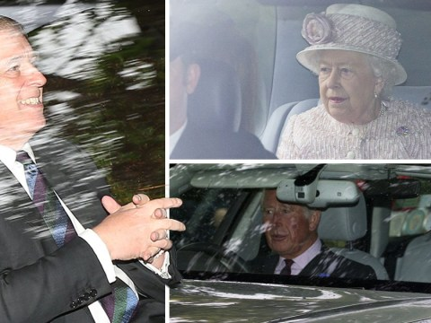 Prince Andrew attends church with the Queen day after death of Jeffrey Epstein