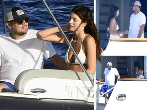 Leonardo DiCaprio and Camila Morrone are having a holiday of dreams on their yacht