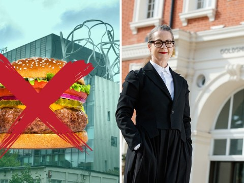 Beef burgers banned by university to 'help save planet'