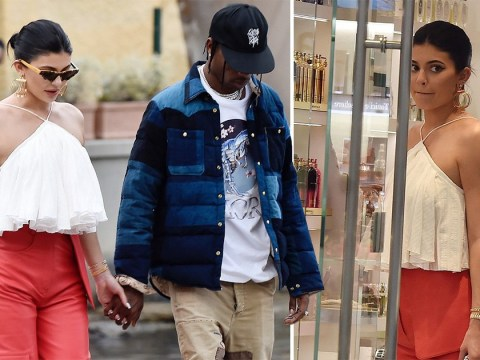 Kylie Jenner proves birthday fun isn't over yet as she enjoys shopping trip with boyfriend Travis Scott