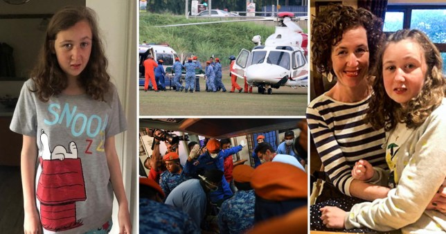 Police say a body found in jungle in Malaysia and now flown to hospital 'resembles' missing Nora Quoirin (Picture: PA)
