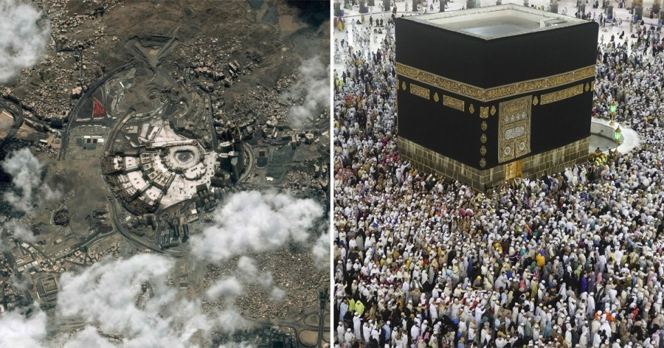 Hajj seen from space