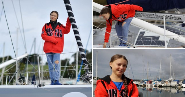 Greta Thunberg is sailing to the US rather than flying