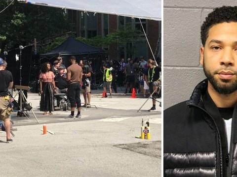 Empire final season shoots in exact spot of Jussie Smollett's 'homophobic attack'
