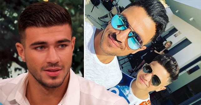 Peter Andre thinks son Junior's new haircut resembles Tommy Fury