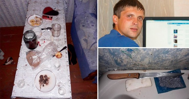 A woman has admitted killing and dismembering her former son-in-law Dmitry Bogdanov (Picture: East2West News)