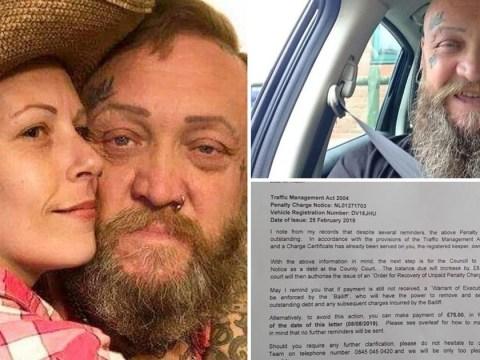 Girlfriend hounded over unpaid parking ticket after boyfriend died in car park