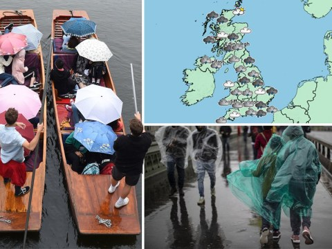 Risk of flooding after UK is hit with heavy rain and thunderstorms