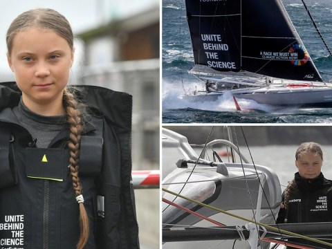 Greta Thunberg sets sail to US climate conference on carbon neutral yacht