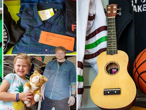 Generous Ed Sheeran donates 300 items to local charity shop amid real estate war with neighbours over 'wildlife pond'