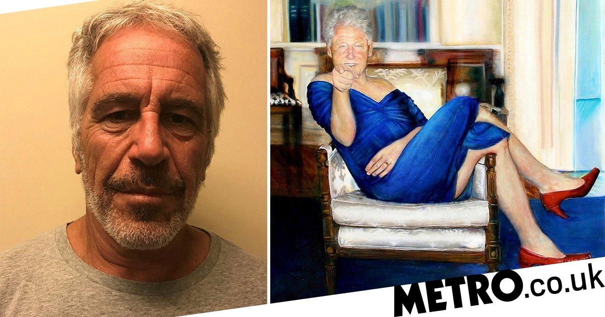 0dc0a76d4035a Jeffrey Epstein had Bill Clinton portrait in paedophile mansion ...