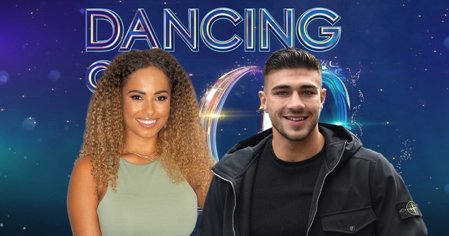 Amber Gill and Tommy Fury on Dancing on Ice