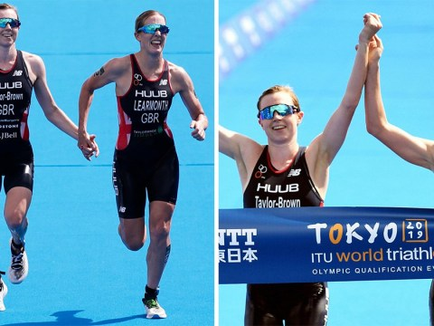 Pair of British triathletes disqualified for holding hands