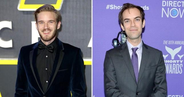 PewDiePie deletes videos and apologises as JacksFilms
