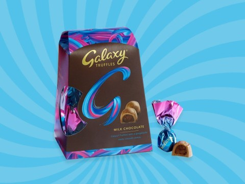 Attention, chocolate lovers: You can now get boxes of Galaxy Truffles