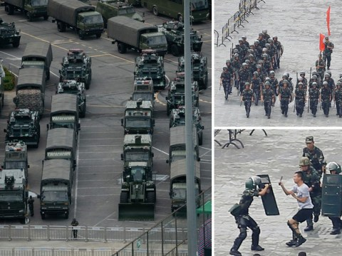 China could attack Hong Kong in just 10 minutes, military warns