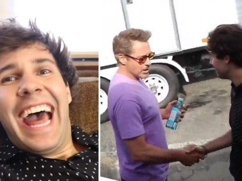 YouTuber David Dobrik is all of us as he fangirls over Avengers' Robert Downey Jr