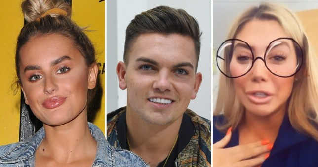 Amber Davies, Sam Gowland and Chloe Ferry
