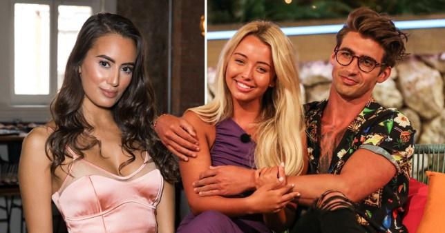 Love Island's Nabila Badda claims Chris Taylor was 'never Harley Brash's type'