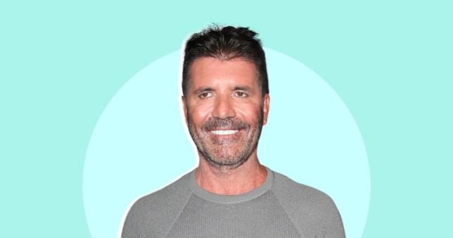 Simon Cowell's face