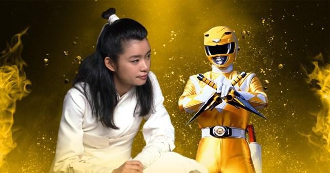 Celia Au / Yellow Power Ranger