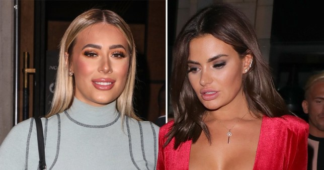 Megan Barton Hanson and Demi Sims spark split rumours
