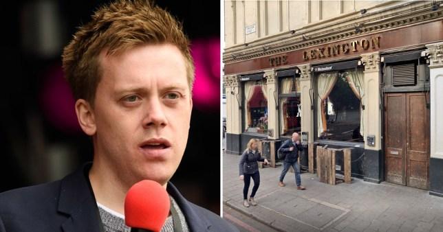 Owen Jones believes he was deliberately targeted (Picture: EMPICS; Owen Jones)