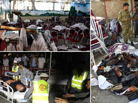 Suicide bomber kills 63 people at wedding in Afghanistan