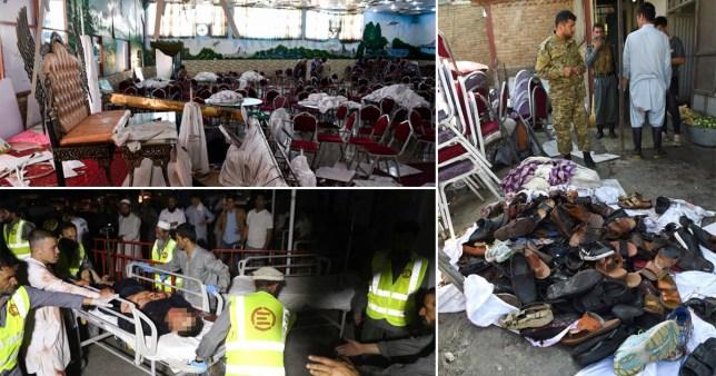 Kabul wedding explosion: Suicide bomber kills 63 people
