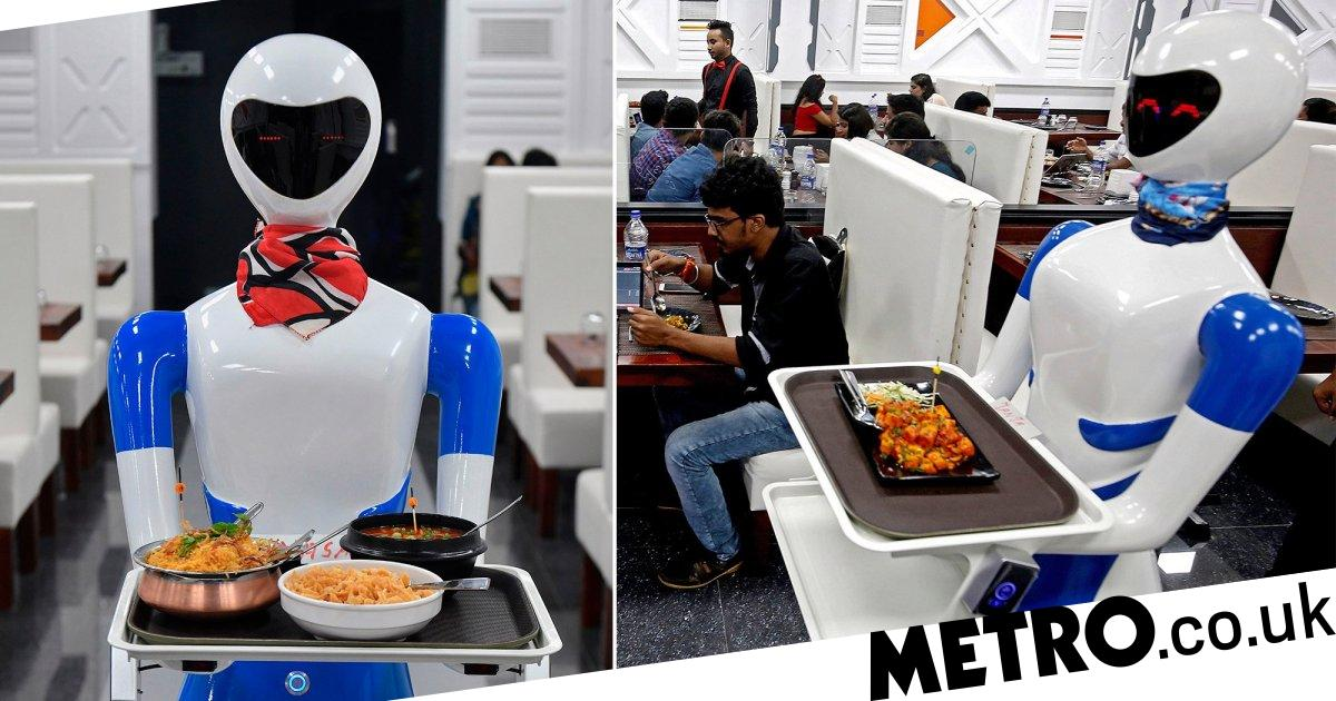 Restaurant where waiters have been replaced with female robots - Metro.co.uk