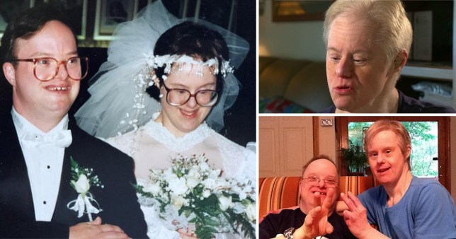 Kris and Paul Scharoun-DeForge, the first couple with Down's Syndrome to get married