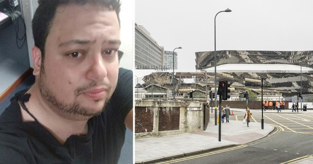 Gian Bocchetti who travelled from Bournemouth to Birmingham New Street to meet a car seller off Facebook, but was instead lured from the station and into an alley where a group of men were waiting for him. He was beaten and robbed of his rucksack which contained cash.
