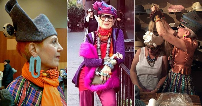 OAP influencer makes outfits out of rubbish – and earns £400 per piece