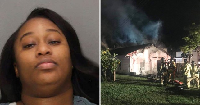 Booty call burned down house when lover fell asleep before sex