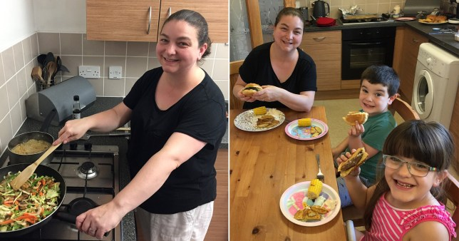 Mum shows how bulk buying allows her to feed family for 76p per meal