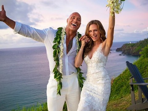 Dwayne Johnson gets married in surprise Hawaiian wedding to long-term girlfriend Lauren