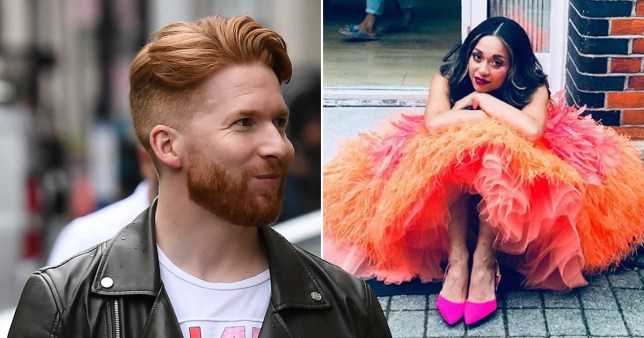 Katya Jones and Neil Jones remove wedding rings as they rehearse for Strictly Come Dancing